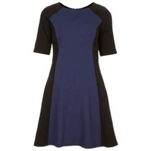 NWOT Topshop Color Block Dress